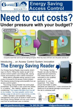 Energy-Saving Reader flyer image